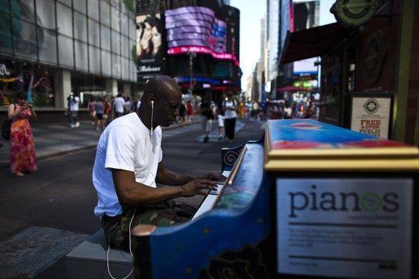 piano timesquare