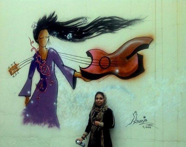 shamsia hassani street art