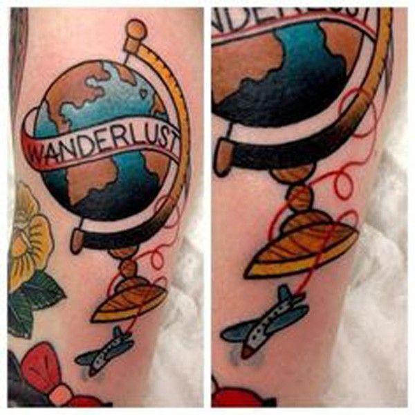 tatouage voyage