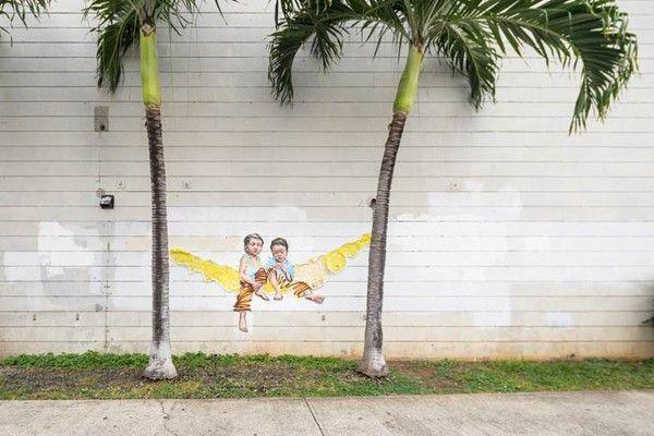 street art pow wow