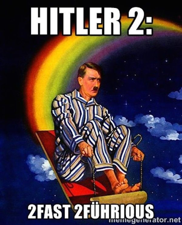 Hitler parodie