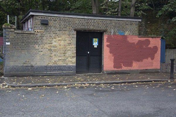 artist londres mur