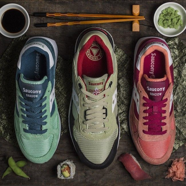 sushi pack saucony