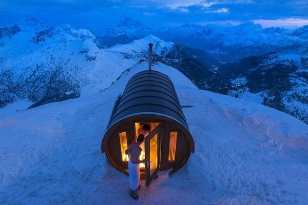 Sauna in The Sky de Stefano Zardini