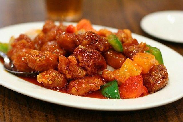 poulet sauce aigre douce