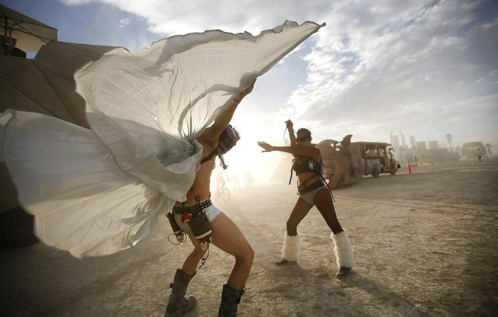 burning man openminded