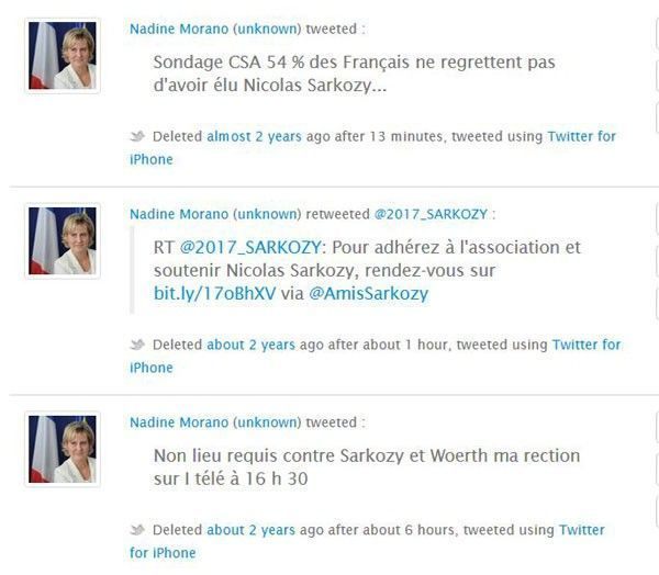 politwoops tweets politiques