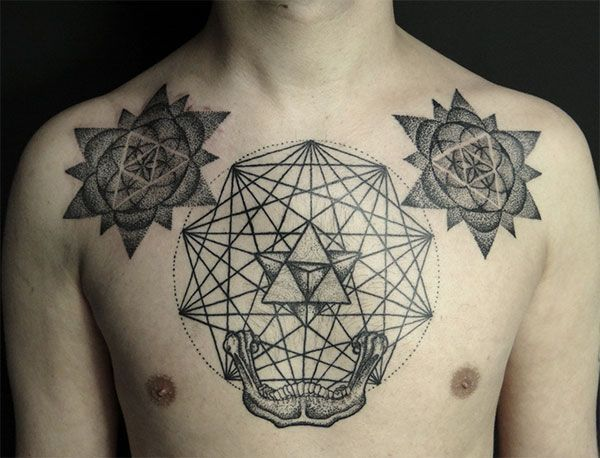tattoo géométrique