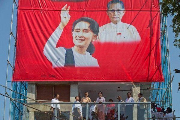 Aung San Suu Kyi victoire lnd