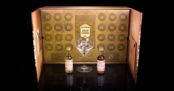 calendrier de l'avent whisky