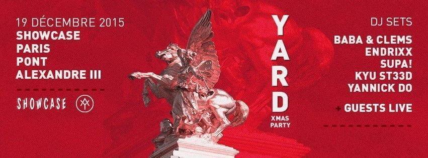 yard xmas party