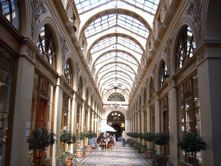 passage couvert Paris