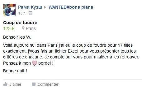 wanted bons plans