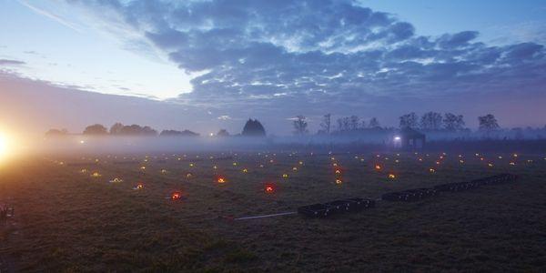 drones lumineux