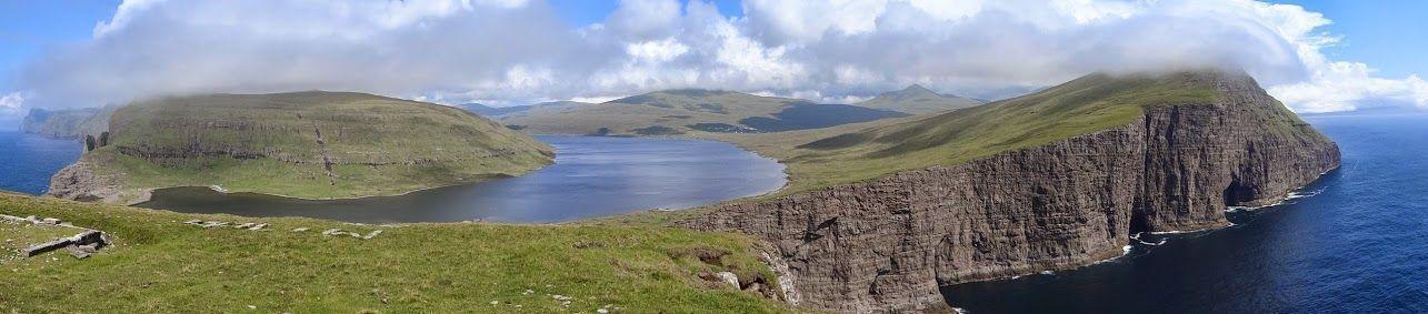 lac feroe Sorvagsvatn