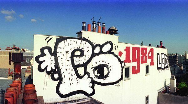jean yves donati rooftop graffiti paris