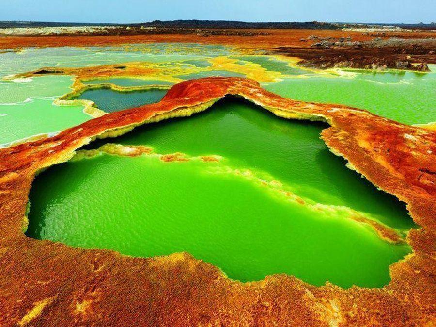 volcans erta ale lac
