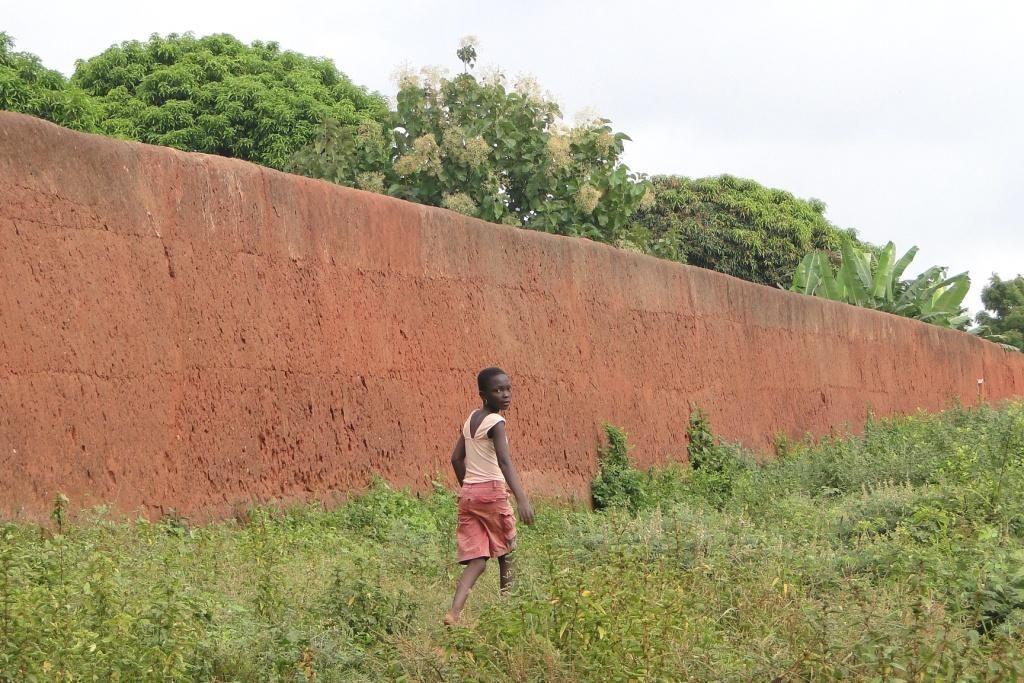 murs du bénin