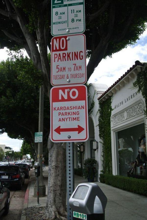 No Kardashians