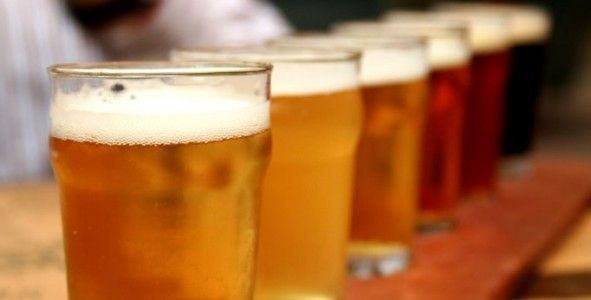 fontaine bière