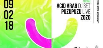 Open Minded party : invitation à la transe avec Acid Arab, Zozo & Puzuzu