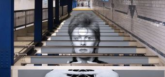 David Bowie habille une station de métro à New-York