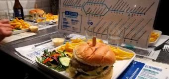 La station Damremont, un restaurant aux allures de métro parisien.