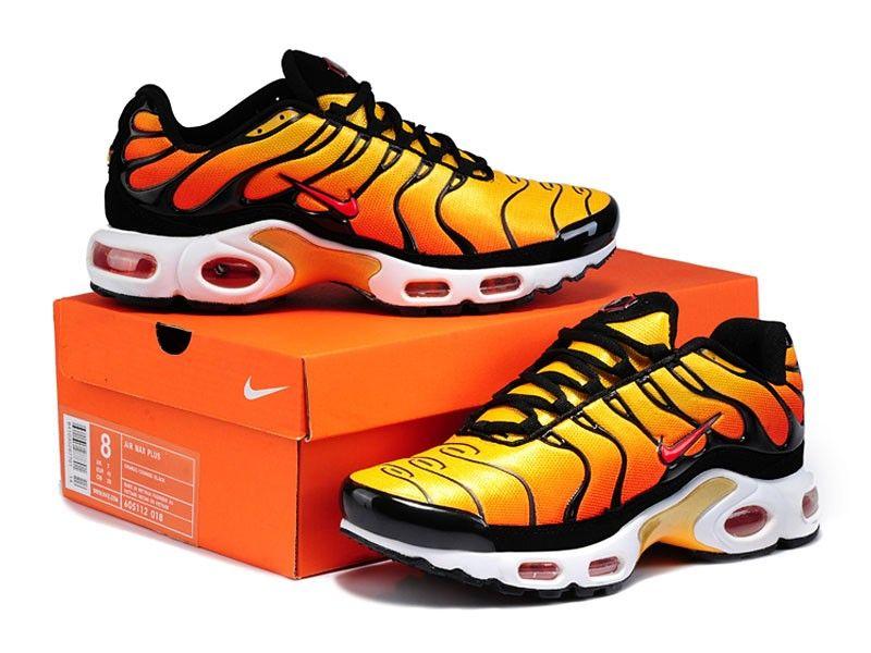 Nike Tn Requin orange noir