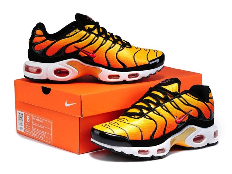 check out 5b637 e83f3 Nike Tn Requin orange noir