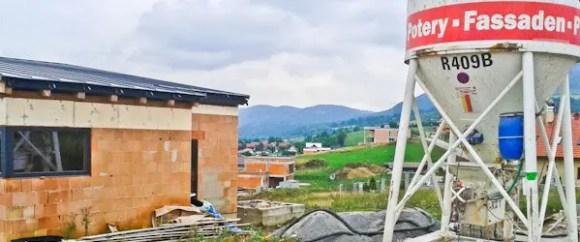 silo s anhydridovým poterom
