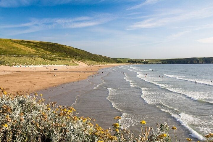 1 woolacombe beach