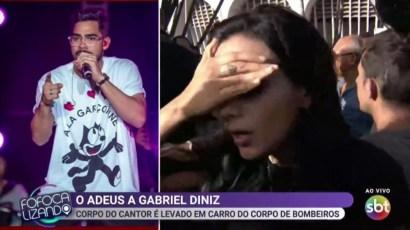 Image result for Jornalista sofre tentativa de furto no velório de Gabriel Diniz