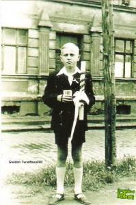 Gwidon Twardowski w dniu I Komunii Świętej