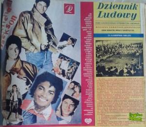 Michael Jackson z Dziennika Ludowego