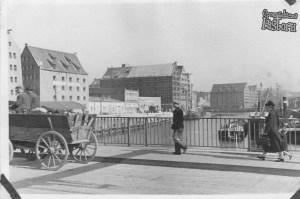 Most Stągiewny w 1941 r.