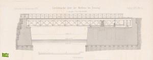Konstrukcja obrotowego Mostu Stągiewnego - dokument z 1871 r.