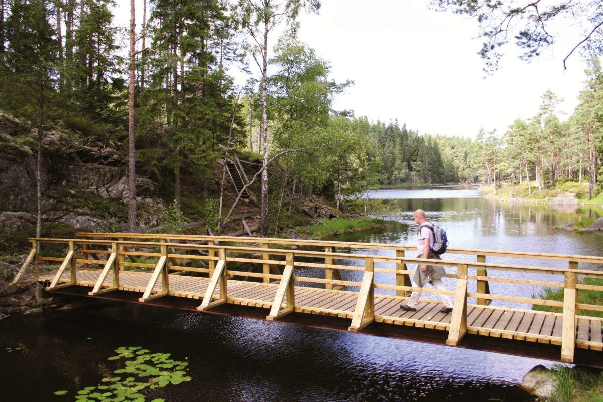 Tresticklan: de wildernis van Dalsland, Zweden