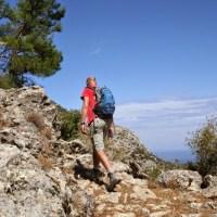 Herfstwandeling tussen de kastanjes op Samos
