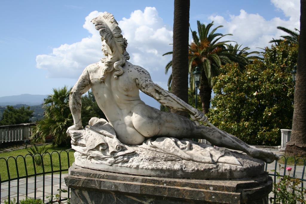 Corfu: op visite bij Keizerin Sissi