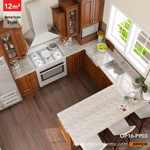 Oppein Kitchen In Africa 187 Op16 Pp03 12 Square Meters U