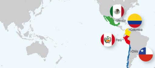 Gráfica: Alianza Pacífico. La unión indica que tienen objetivos políticos y económicos similares y reconocen su compromiso con el libre comercio.