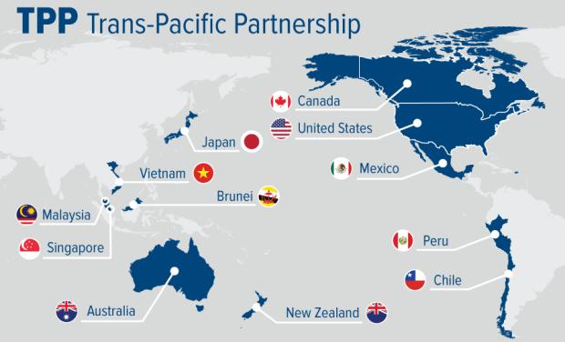 """Gráfico: USFunds. """"No aprobar el TPP afectaría nuestro liderazgo y nuestra posición y les daríamos las llaves del castillo a China"""", comentó Froman."""