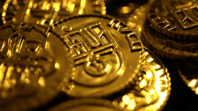 Photo of El oro avanza por tercera sesión consecutiva, a 1,282 dólares por onza