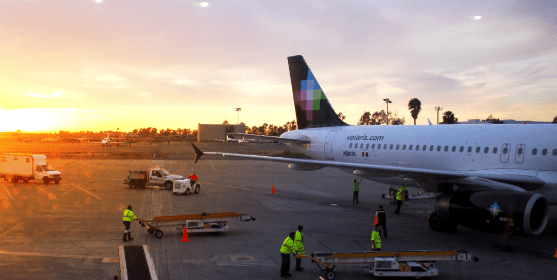 Grupo Aeroportuario del Pacífico (GAP), reported that its 14 airports recorded a decrease in passenger traffic of 76.8%, compared to the same period of the previous year.