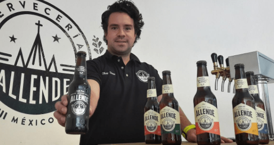 Cervecería Allende, del estado de Guanajuato, triunfa en sus exportaciones: Cofoce