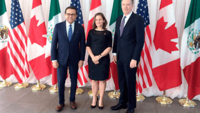 "Photo of Freeland y Lighthizer tienen negociaciones ""intensivas"" sobre el TLCAN"