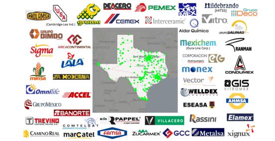Gruma, Cemex, Mexichem y Bimbo generan empleos en Texas
