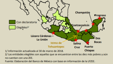 Photo of Vocaciones productivas de las ZEE de México