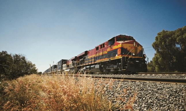 Ferromex y Kansas City Southern de México (KCSM) ganaron participación de mercado en el movimiento de carga por vía férrea en México durante 2018.