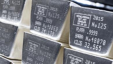 Una buena parte de la producción nacional de plata, tiene su origen en compañías con matriz de origen extranjero, mayoritariamente canadienses.